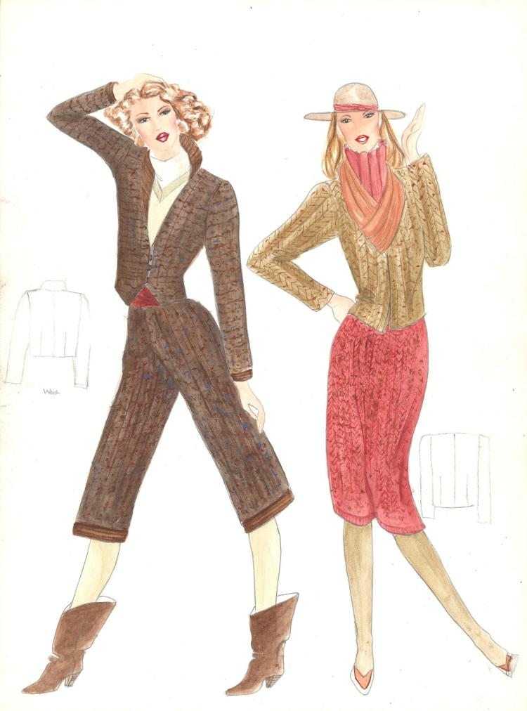 Fashion Drawing #2 by Gordon Henderson