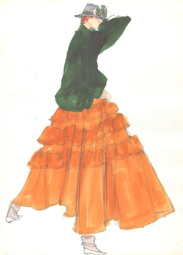 Fashion Drawing #5 by Gordon Henderson