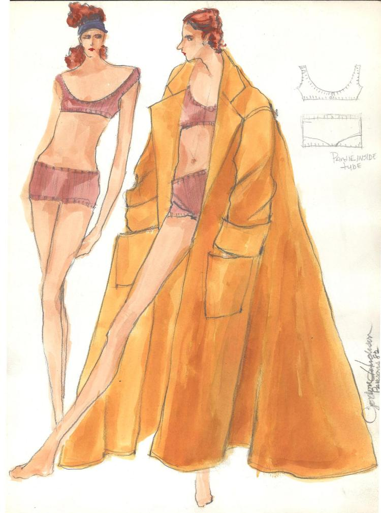 Fashion Drawing #6 by Gordon Henderson