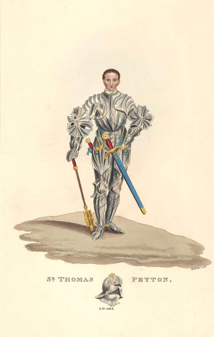 English Knight Sir Thomas Peyton