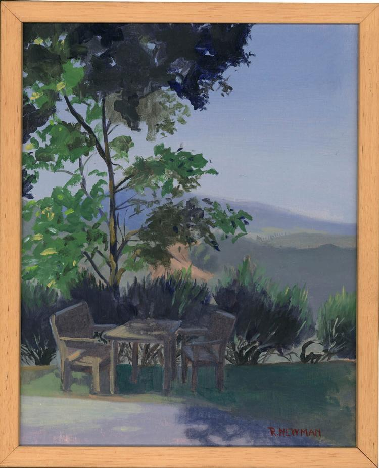 Rustic Perch on Tuscan Landscape