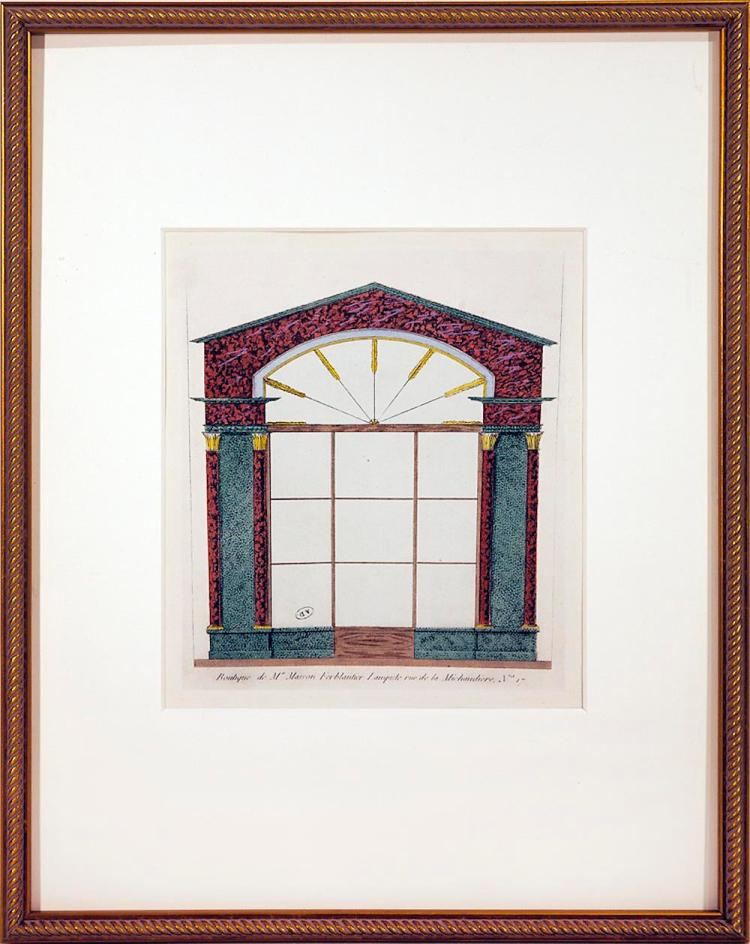 Framed Parisian Boutique Window #17, 1925