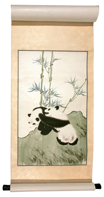 Mother Panda w/ Panda Cub