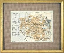Map of Ravenna, Italy