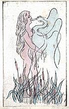 Mythical Leda & the Swan