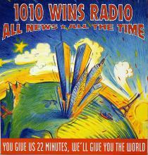 1010 Wins Radio Poster