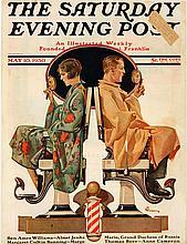 Original Norman Rockwell Magazine Cover