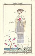 Parisian Embroidered Linen Dress