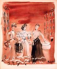 French Women Shopping