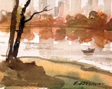 Central Park Watercolor
