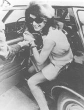 Jacqueline Kennedy Onassis, Athens Airport