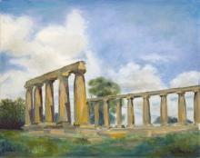 Greek Temple Ruins, Basilicata Italy