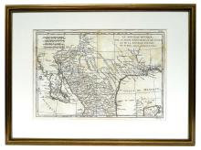 18th-C. Map of New Spain