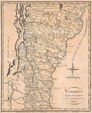 Map of Vermont, 1799