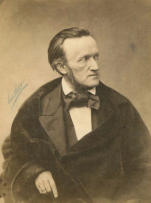 Pierre PETIT (1831-1909) Richard Wagner, 1861
