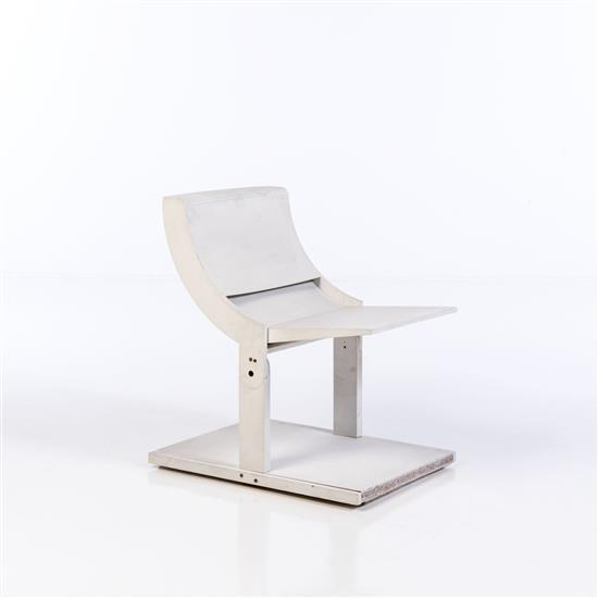 Pierluigi Ghianda (1926-2015)Chaise escamotable - Prototype
