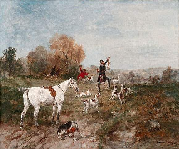 John LEWIS BROWN (1829 - 1890). - « La prise du