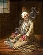 Attribué à Etienne JEAURAT (1699-1789) Homme au turban dans, Etienne Jeaurat, Click for value