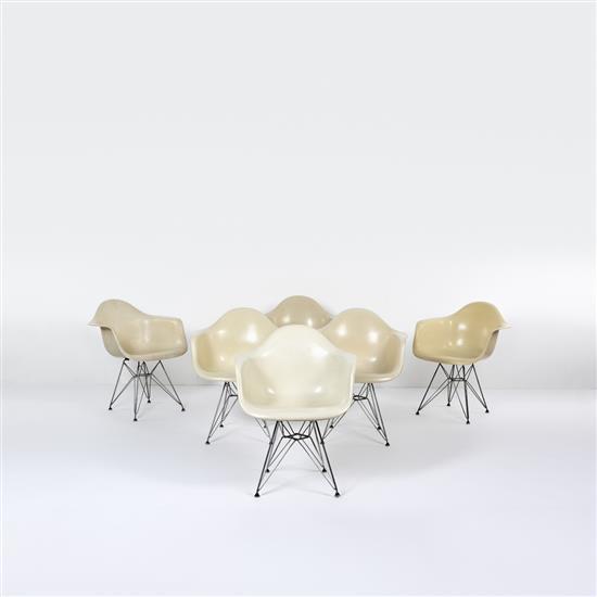 Charles & Ray Eames (XXe)Modèle DAR