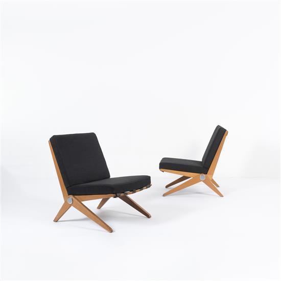 Pierre Jeanneret (1896-1967)Easy Chair
