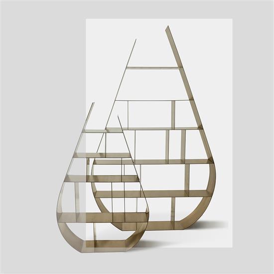ƒ Design MVW Shui Di Bibliothèque Laiton Edition limitée à 8 exemplaires 4 E
