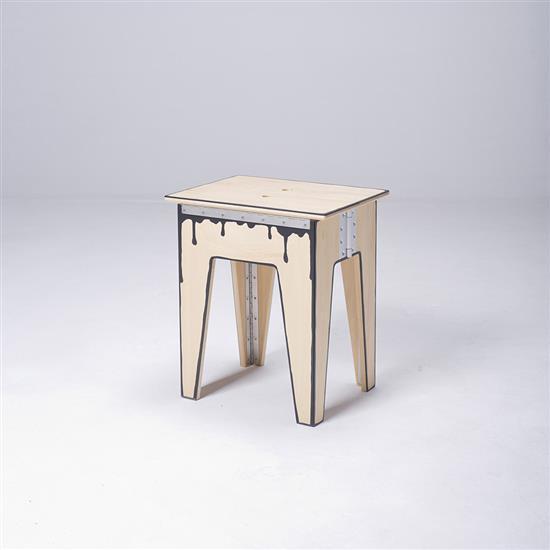 ƒ* Li Naihan Tabouret Bois Série Fold 2
