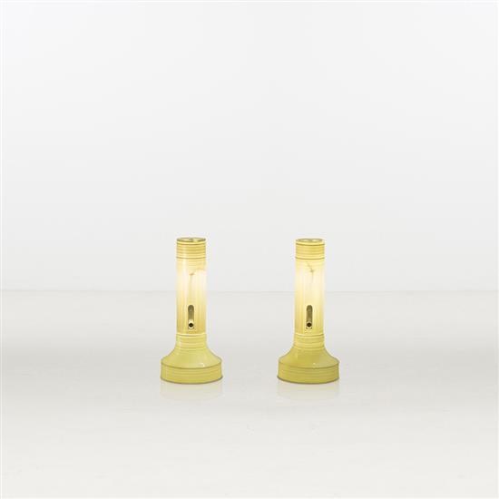 ƒ Lin Jing Surrealism Paire de lampes Porcelaine à la cendre d'os Edition limitée à 9 exemplaires   4 E