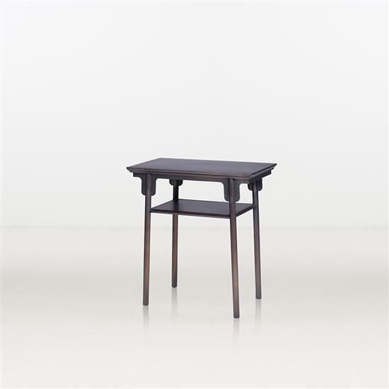 ƒ* Ren Xiaoyong Li An Table d'appoint Bronze Édition limitée à 50 exemplaires Numérotée 10/50 Date de création : 2016 ...