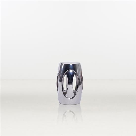 ƒ* Shi Jianmin 4 point Light Stool Tabouret Acier Édition limitée à 99 exemplaires Numéroté 58/99 Date de création : 200...