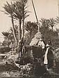 ZANGAKI Frères Égypte : grand bazar au Kars-el-Nil, dompteur, charmeur de serpents, saqquieh, piquage du blé…, années 1870-1890