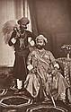 INDE  Maharajas,  années 1880-1890 8 épreuves d'époque sur papier albuminé