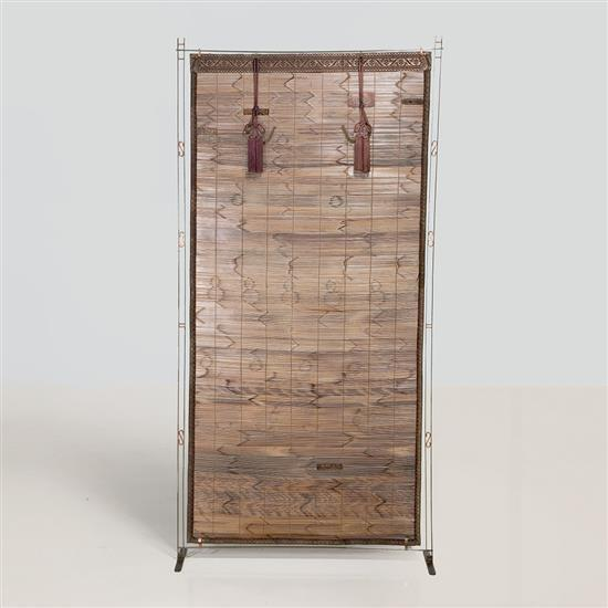 Lilou Grumbach-Marquand Écran Structure : acier et cuivre Panneau intérieur :