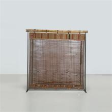 Lilou Grumbach-Marquand Écran Structure : métal et bambou Panneau intérieur :