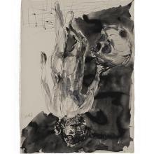 *Georg Baselitz (né en 1938)Sans titre, 2001