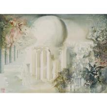 Ljuiba (1934-2016)Sans titre (composition fantastique), 1987