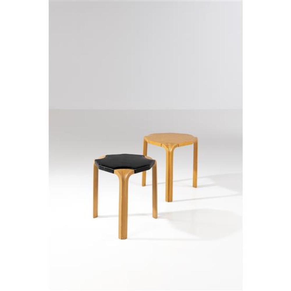 Alvar Aalto (1898-1976) Model no. X602, 'X-leg'