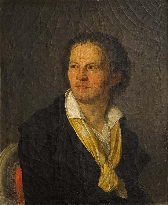 Joseph Benoît SUVÉE (1743-1807) Portrait d'homme