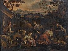 École FLAMANDE du XVIIe siècle, suiveur de Jacopo BASSANO