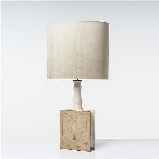 bruno gambone n en 1936 lampe de table. Black Bedroom Furniture Sets. Home Design Ideas