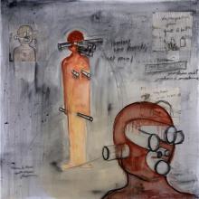 Fabrice Hyber (born 1961) L'homme de terre - Clayman, 2009
