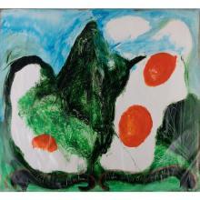 Jean Messagier (1920-1999) Liste des délices d'un matin, 1991