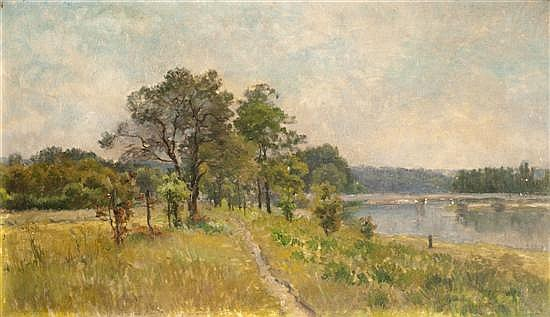 Mario CARL-ROSA (1855-1913) Bords de Seine