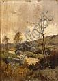 Louis DUPUY (1854-1941) Le Ruisseau Bord de rivière