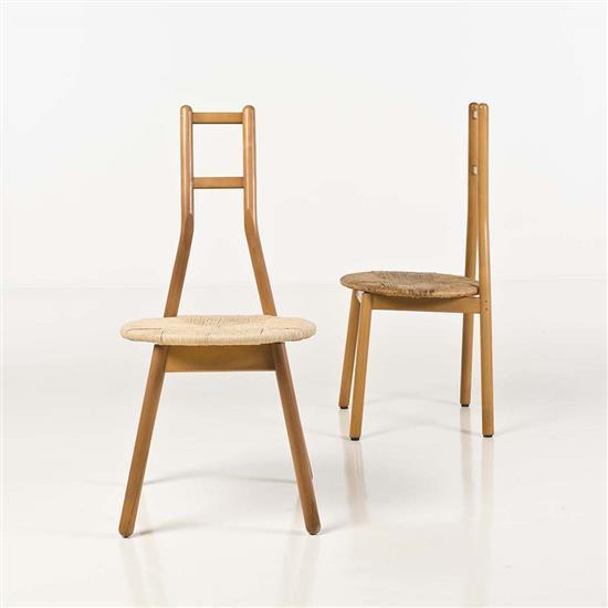 Vico magistretti 1920 2006 paire de chaises - Chaises design italien ...