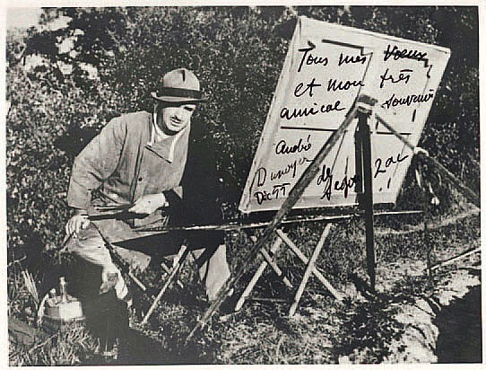 André DUNOYER DE SEGONZAC (1884-1974) peintre