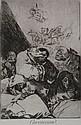 Francisco de Goya y Lucientes (1746-1828) Correccion (Caprichos, pl