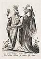 Robert Boissard (vers 1570-1603) Qui Genio indulges… (La Mort et une jeune femme)