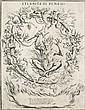 Giuseppe Maria Mitelli (1634-1718) Eternita di Pene : Mira qui Peccator nel Joco eterno… Vers 1700