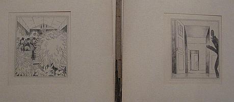 Adolphe Hervier (1818-1879) Six eaux-fortes par Hervier