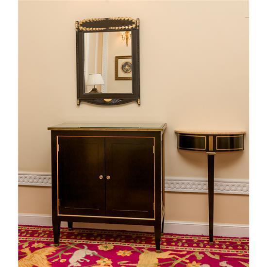 Meuble d''appui, miroir et consoleConsola de colgar, entredos y espejo